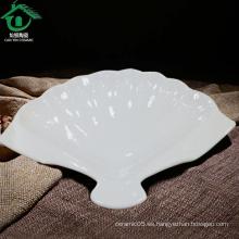 Venta al por mayor chaozhou cerámica cena platos para restaurantes, barato porcelana placa