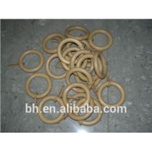 2014 New Design Plastic Clip Wooden Curtain Pole Rings