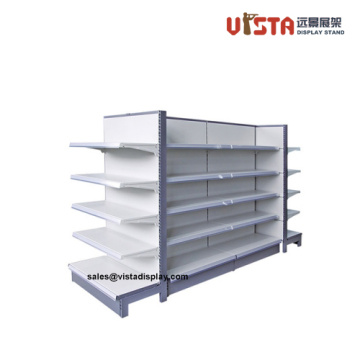 Heavy+Duty+Stainless+Steel+4+Tiers+Supermarket+Shelf