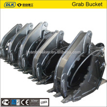 PC200 PC210 PC220 Hydraulic Fixed Bucket Grapple,excavator attachment grab,bucket grabble