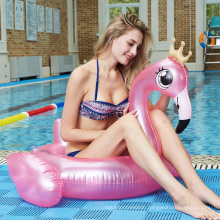 Wholesale Inflatable flamingo Unicorn Swimming Pool Floats Tube swim ring For Adults Swimming Pool Party Toys