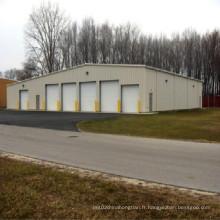 Structure en acier doux pour l'entrepôt préfabriqué