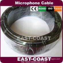 Black XLR microphone Cable Bluk