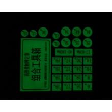 Привет видимость светятся в темноте стикер стены для спальни / красивый стикер флуоресцентный клавиатуры