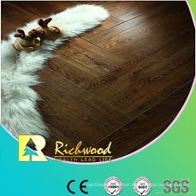 12mm HDF Embossed Hickory V-Grooved Waxed Edged Lamiante Flooring