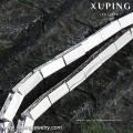 74671 xuping joyería de imitación de moda color plata tenis diamante pulsera