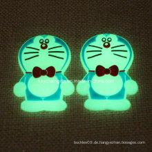 Promotion Custom PVC Doraemon mit Golw in Dunkelheit