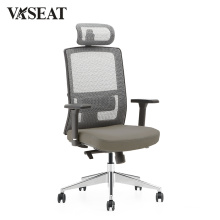 Modern Office Furniture High back Swivel Mesh and Fabric Executive Manager Chair