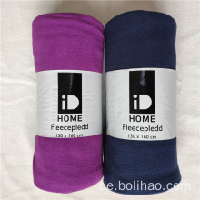 Anti Pilling Polar Fleece Decke