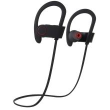 Os auriculares estereofónicos dos auscultadores do esporte de Bluetooth para o telefone móvel tabulam o PC