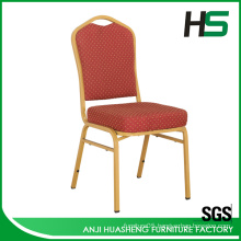 Low price modern stainless steel dining chair for garden