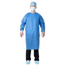 Bata quirúrgica desechable Bata de aislamiento médico Overol