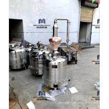 100L 200L Micro whisky vodka équipement de distillerie alcool colonne de distillation à domicile