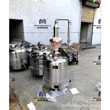 100L 200L Micro whisky vodka distillery equipment alcohol home distillation column