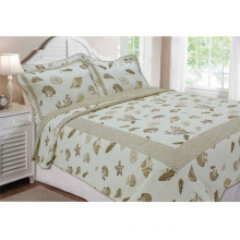 Ocean Printed Cosy Color Cotton Children Bedding Quilt (WSPQ-2016011)