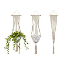 Suporte de corda de planta em vaso de suspensão