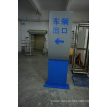 Acryl-Verzeichnis-Zeichen-Werbungs-Stand-Monolith-Architekturbeschilderung