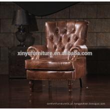 Sofá de sofá armrest estilo francês antiquado estilo antiquado A628