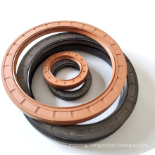 Oil Resistant Nitrile Rubber Oil Seal Double Lip Internal Thread HTC Oil Seal