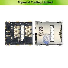 Repuestos para Sony Xperia Z L36h Lector de tarjetas SIM Contacto