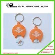 Personalizado promocional Supermercado Trolley Coin chaveiro (EP-K7898)