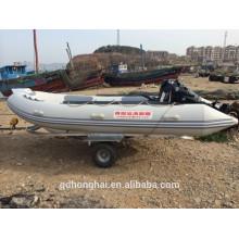 Barco inflável de RIB470 com a china ce barco de costela