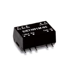 Paquete de 1W Meanwell DETN01 serie SMD Convertidor no regulado DC-DC