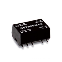 1W Meanwell DETN01 série SMD Pacote DC-DC Unregulated Converter