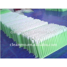 Écouvillons de mousse de Cleanroom de tête de Dacron avec la petite tête 500pcs / paquet