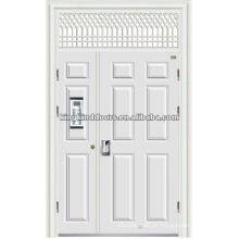 Sohn und Mutter-Sicherheits-Tür mit Fenster Gebäude Tür
