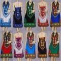 Pur coton imprimé, tissus exportés sur le marché de l'Afrique de cire