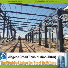 High Quality Wide Span Galvanization Light Steel Structure Factory Building