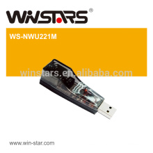 USB 2.0 compliant Ethernet Adapter,100Mbps Ethernet Adapter,LEDS indicating for speed and link status