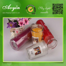 7 Hari Religous Jar Glass Candle