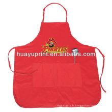 2013 Hot Sale imprimé tablier de cuisine en coton personnalisé AT-1013