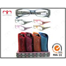 Gafas de lectura con disply venta caliente y de moda (MRP21565)