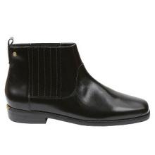Casual Comfort Botas de cuero para el tobillo
