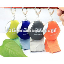 Keychain Lens Microfiber Cleaning Cloth,Lens cleaning cloth, Optical Gifts