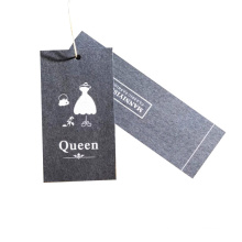 Wholesale Custom Recycled Paper Hangtags for Clothing Own Logo