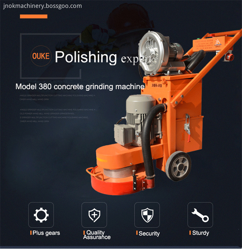 Concrete Floor Grinder Machines