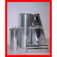 Beschichtung von PET-Metallfolien