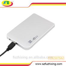 Estuche de disco duro SATA Estuche de disco duro externo USB HDD Estuche