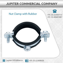 Nut Clamp with Rubber