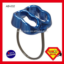AB-032 ATC Forged Aluminum Belay Device For Descending, Ascending Climbing Double Slot