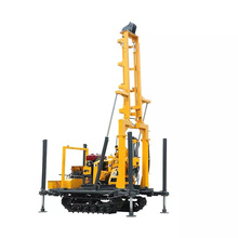 Portable soil machinery water borehole drilling rig