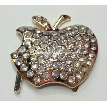 Novo Diamante Metal Buckles para Lady Shoes com Apple Designs