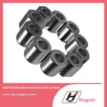 Ímã de NdFeB de anel de N30uh de minério de ferro