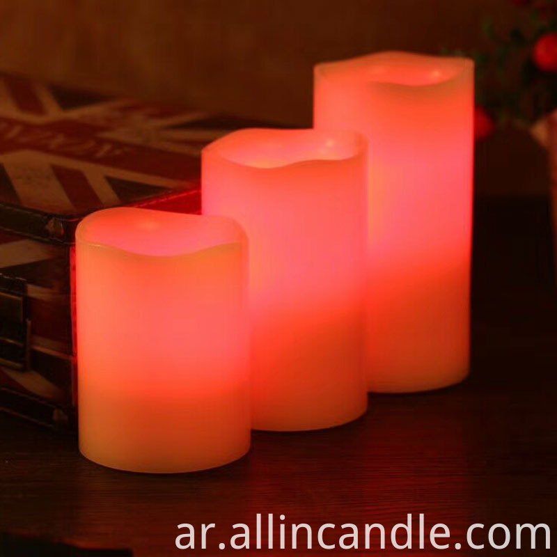 Color Led Candle 2