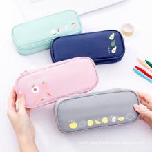 Wholesale customization large volume  cute school students writing case  pencil bag pen bag