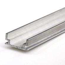 Perfil de aluminio LED de tubo de aluminio extruido personalizado